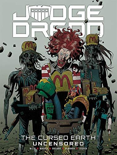 9781781085691: Judge Dredd: The Cursed Earth Uncensored