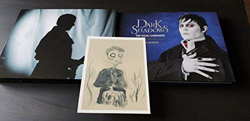9781781162569: Dark Shadows: The Visual Companion - Collectable Limited Run Special Edition Signed by Tim Burton with Print by Mark Salisbury (2012-08-02)