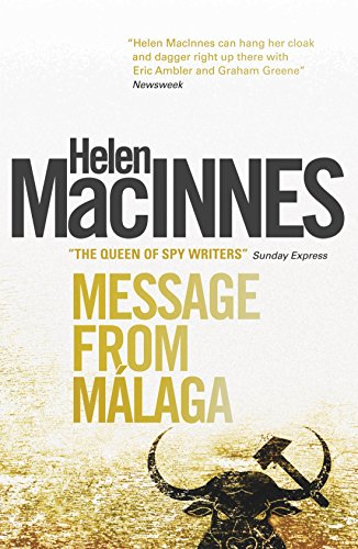 9781781163337: Message from Malaga