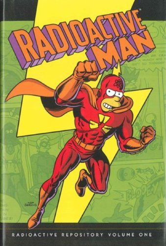9781781167526: Simpsons Comics Presents Radioactive Man - Radioactive Repository Volume 1