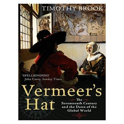 "vermeers hat In vermeer's hat it states ""he needed to control the trade that supplied the felt makers of europe, but far more than that, he needed to find a route."