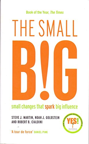 9781781256398: The small BIG: Small Changes that Spark Big Influence