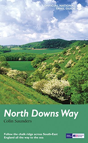 9781781315002: North Downs Way: National Trail Guide (National Trail Guides) [Idioma Inglés]