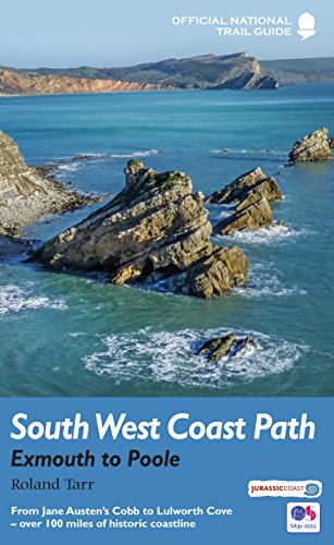 9781781315675: South West Coast Path: Exmouth to Poole: National Trail Guide