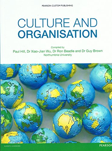 9781781342329: CULTURE AND ORGANISATION NORTHUMBRIA UNIVERSITY