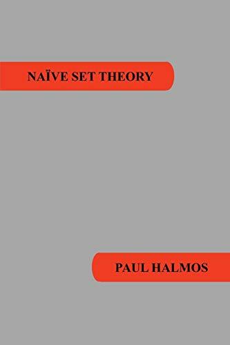 9781781394663: Naive Set Theory