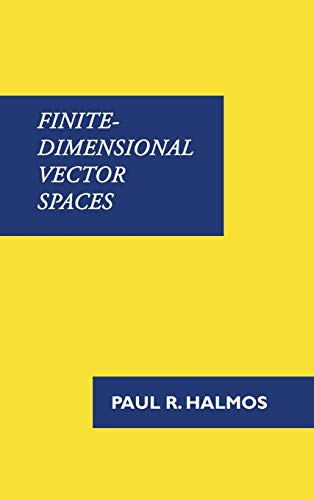 9781781395745: Finite-Dimensional Vector Spaces