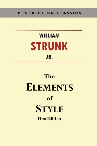9781781397060: The Elements of Style (First Edition)