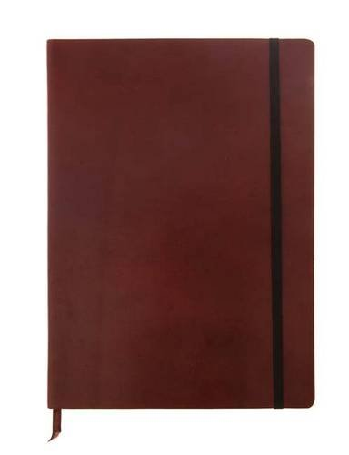 9781781431030: Monsieur Notebook - Real Leather A4 Brown Dot Grid