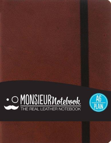 Plain PKT Brown: Monsieur Notebook
