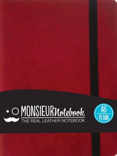 Plain PKT Red: Monsieur Notebook
