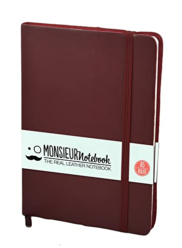 9781781438336: Monsieur Notebook Soft Leather Journal - Burgundy Ruled Medium (Monsieur Notebook Soft Leather Classics)