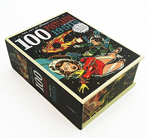 The Art of Classic Comics: 100 Postcards Fom the Fabulous 1950s (Novelty): Ilex Press