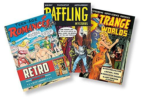 Retro Comics Journals: Set of 3 Journals: Ilex Press