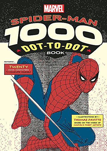 9781781573495: Marvel's Spider-Man 1000 Dot-to-Dot Book: Twenty Comic Characters to Complete Yourself
