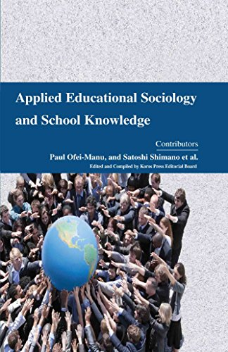 9781781639764: Applied Educational Sociology and School Knowledge