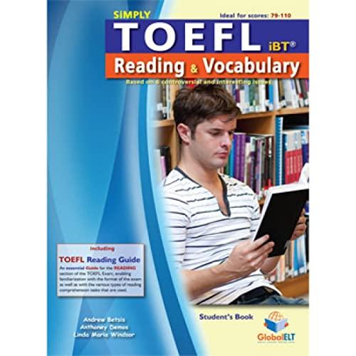 Simply TOEFL Reading Vocabulary - Student s: Andrew Betsis, Anthoney
