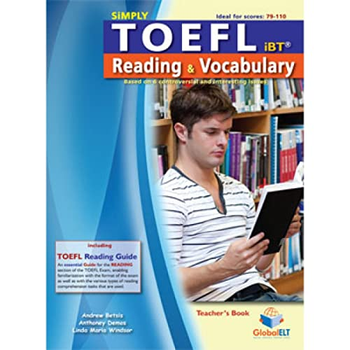 Simply TOEFL Reading Vocabulary - Teacher s: Andrew Betsis, Anthoney
