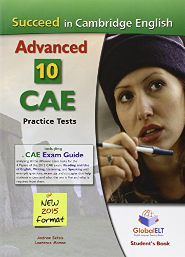 Succeed in Cambridge English Advanced-CAE-2015 Format, Student: Betsis Andrew, Lawrence