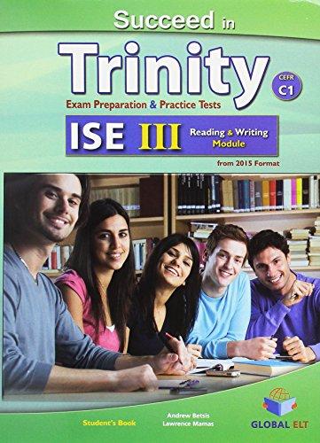 9781781642238: Succeed in Trinity-ISE III - CEFR C1 - Global ELT