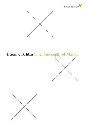 9781781681534: philosophy of Marx (Radical Thinkers)