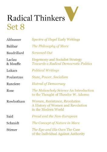 Radical Thinkers Set 8 (Shrinkwrapped): ,