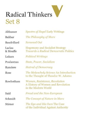 Radical Thinkers Set 8 (Shrinkwrapped): Various