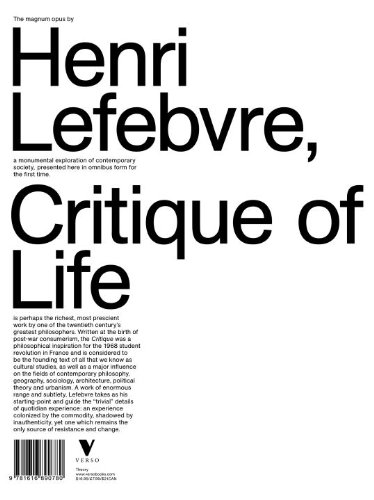 9781781683187: Critique of Everyday Life: Introduction