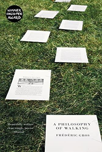 9781781688373: A Philosophy of Walking
