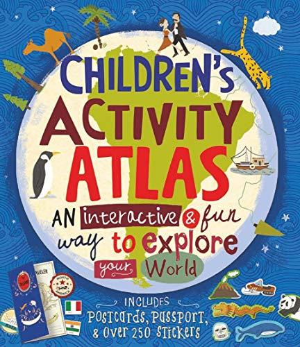 Children s Activity Atlas (Hardback): Jenny Slater