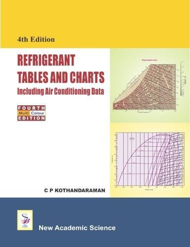 Refrigerant Tables and Charts Including Air Conditioning: C. P. Kothandaraman
