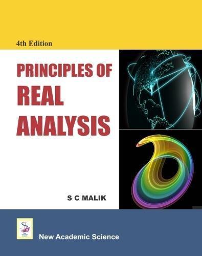 9781781831069: Principles of Real Analysis