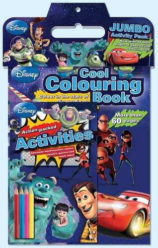 9781781861974: Disney Pixar Jumbo Activity Pack