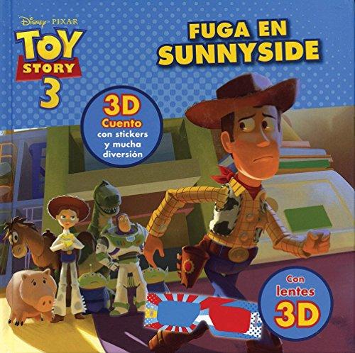 9781781862858: Disney Pixar Toy Story 3: Fuga En Sunnyside con lentes 3D (Spanish Edition)