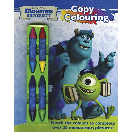Disney Monsters University: Copy Colouring: Parragon Publishing India