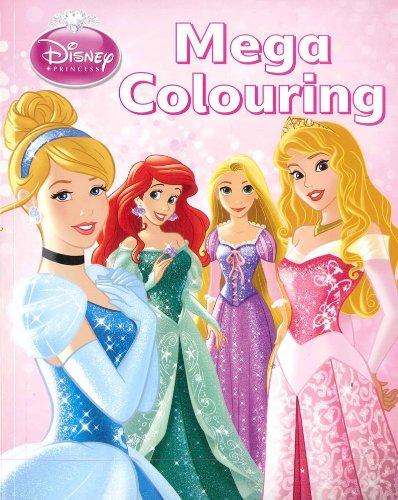 9781781865934: Disney Princess Mega Colouring Book