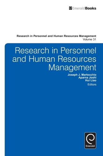 9781781901724: Research in Personnel and Human Resources Management
