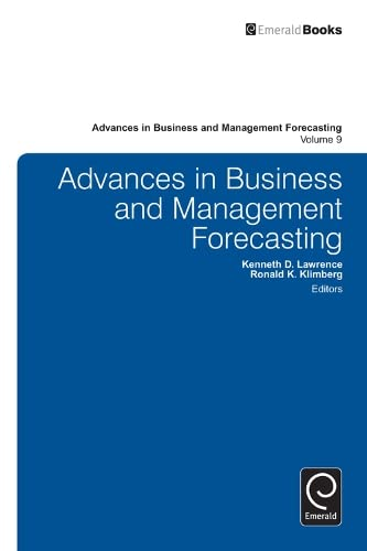 Advances in Business and Management Forecasting: Kenneth D. Lawrence,