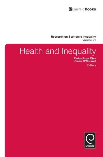 9781781905531: Health and Inequality: 21 (Research on Economic Inequality)