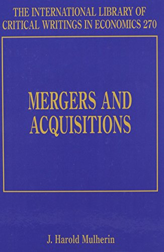 Mergers and Acquisitions: J. Harold Mulherin