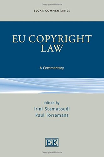 9781781952429: Eu Copyright Law: A Commentary (Elgar Commentaries Series)