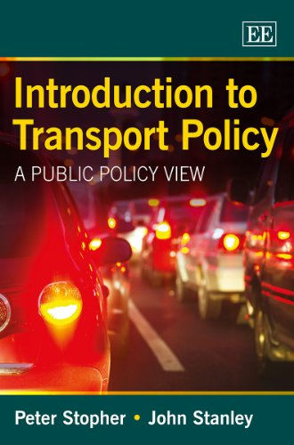 9781781952443: Introduction to Transport Policy: A Public Policy View