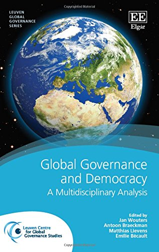 9781781952610: Global Governance and Democracy: A Multidisciplinary Analysis