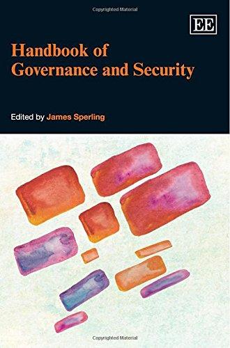 Handbook of Governance and Security: Sperling, James (EDT)