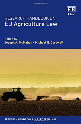 9781781954614: Research Handbook on EU Agriculture Law (Research Handbooks in European Law series) (Elgar Original reference)