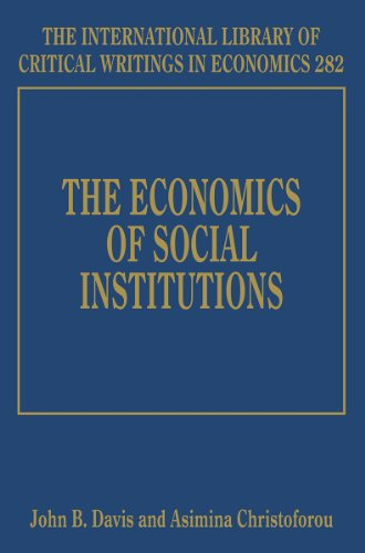 The Economics of Social Institutions: John B. Davis