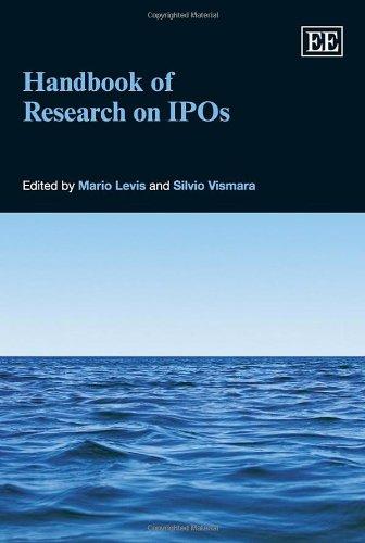 9781781955369: Handbook of Research on IPOs (Elgar Original Reference)