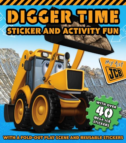 9781781971505: Digger Time Sticker and Activity Book (S & A Gatefold JCB)