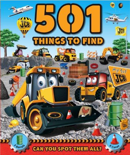 JCB 501 Mega Machines to Find: Igloo Books