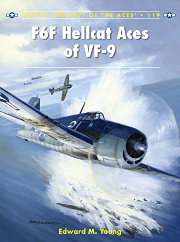 F6F Hellcat Aces of VF-9 (Paperback): Edward M. Young